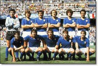 ALINEACION ITALIANA EN EL MUNDIAL DE ESPAÑA 1982