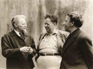 Leon Trotsky, Diego Rivera y André Breton