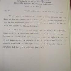 Tlatelolco, D.F, 18 de octubre de 1968.