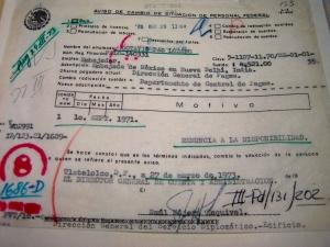Boletín de prensa de la SRE sobre disponibilidad de Octavio Paz, octubre de 1968.